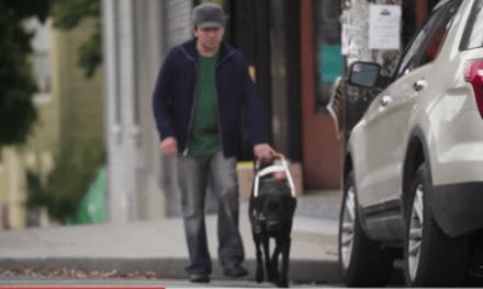 Dispositivo portátil para mejorar la movilidad de discapacitados visuales