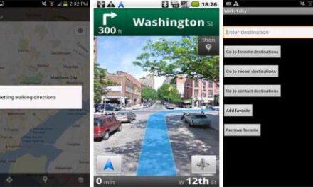 WalkyTalky, una app de Android para orientarnos por las calles