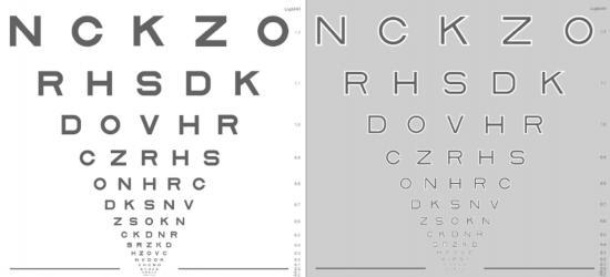 Nuevas pruebas de agudeza visual para la detección precoz de la DMAE