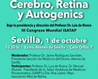 """Mesa redonda """"Cerebro, Retina y Autogenics"""""""