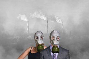 Contaminación ambiental y ojo seco