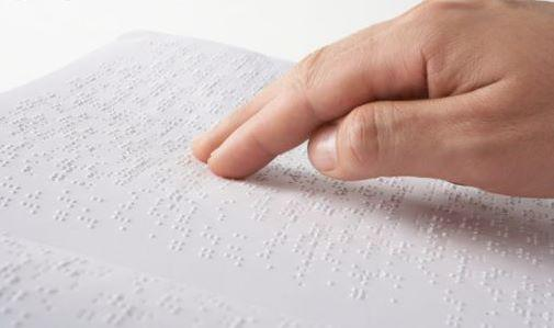 Posibilidad de intercambiar libros para discapacitados visuales
