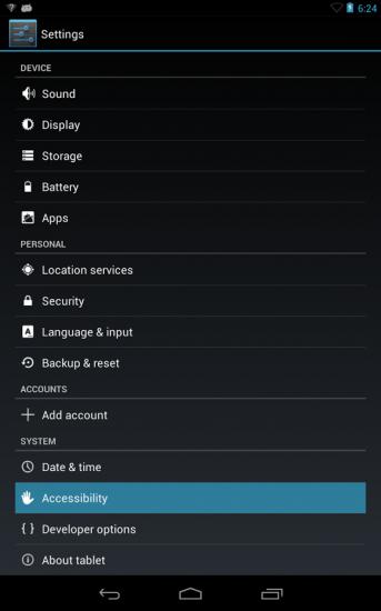 TalkBack, utilidad Android para discapacitados visuales