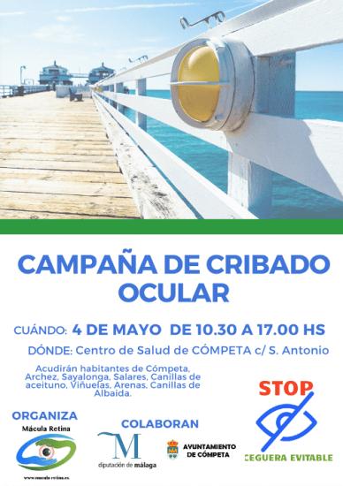 Campaña de cribado ocular en pueblos de la Axarquía (Málaga)