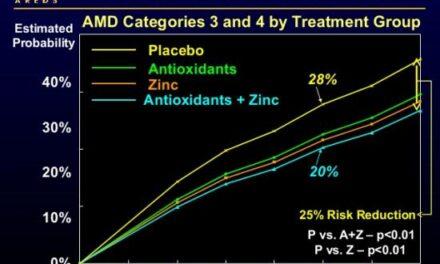 Dietas ricas en calcio y menor riesgo progresión DMAE