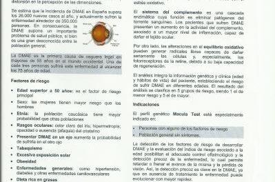Detección Precoz de Factores de Riesgo. Evaluación Genética