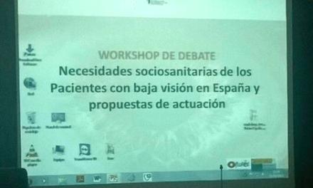 Jornada informativa sobre necesidades sociosanitarias de personas con Baja Visión