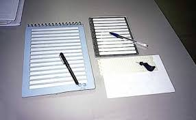 Cuaderno y Rotulador trazo grueso