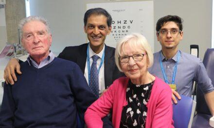 Los médicos esperan curar la ceguera por DMAE