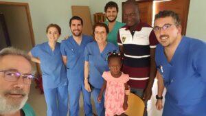 El equipo de Voluntarios de la Fundación La Arruzafa