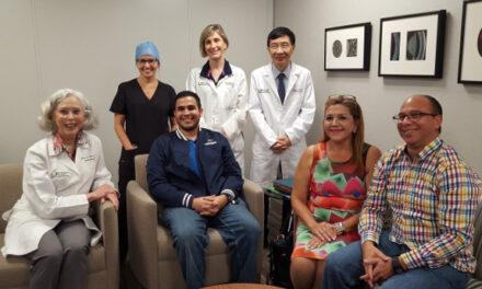 Paciente tratado con terapia Nightstar para XLRP