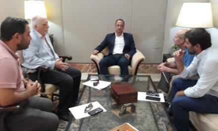Reunión con el delegado del gobierno en Andalucía