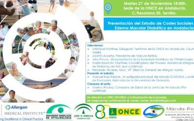 Presentación Estudio Costes Sociales Edema Macular Diabético