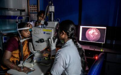 Inteligencia artificial contra la ceguera