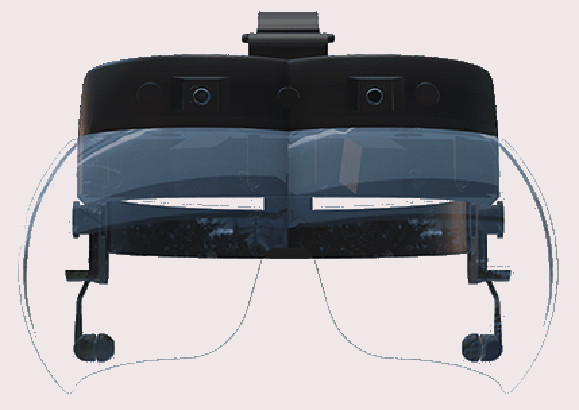Gafas Oculenz AR de realidad aumentada para DMAE