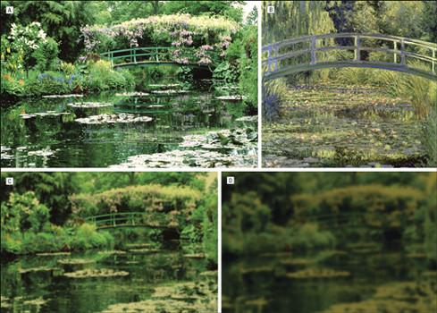 Nenúfares y Puente Japonés de Monet en Giverny