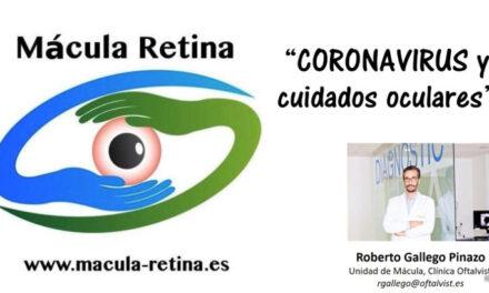 Coronavirus y cuidados oculares