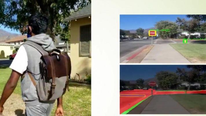 Una mochila con IA de Intel ayuda a los discapacitados visuales a evitar los obstáculos