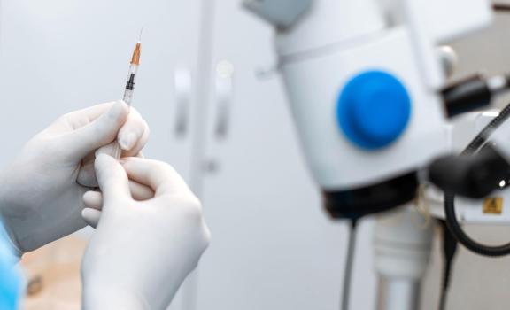 Aceite de silicona tras inyecciones intravitreas
