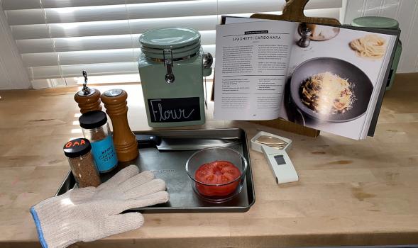 El cocinero que no ve: Cocina adaptada para personas con pérdida de visión