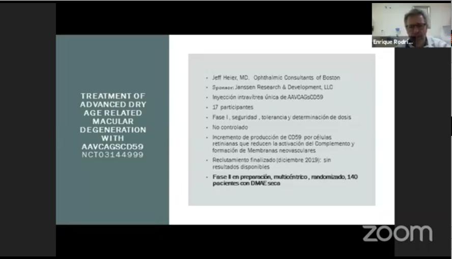Diapositiva de ensayo Janssen para DMAE seca